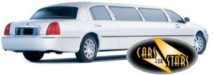 White limousines for hire for weddings in the Walsall area. Wedding limousines Walsall